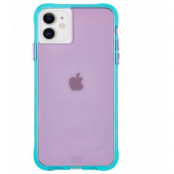 Case-Mate Tough Neon (iPhone 11) - Lila/turkos