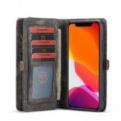 CASEME 2-in-1 Plånboksfodral för iPhone 11 - Grå