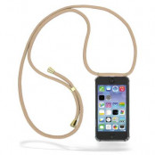CoveredGear Necklace Case iPhone 11 - Beige Cord
