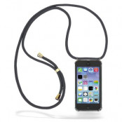CoveredGear Necklace Case iPhone 11 - Grey Cord