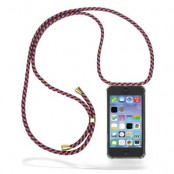 CoveredGear Necklace Case iPhone 11 - Red Camo Cord