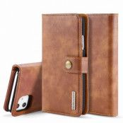 Magnet Wallet iPhone 11 Cognac