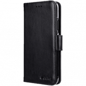 Melkco Wallet Case Plånboksfodral för iPhone 11 - Svart