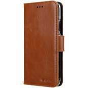 Melkco Walletcase iPhone 11 - Brun