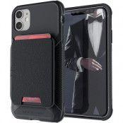 Ghostek | Magnetic Wallet Korthållare Skal iPhone 12 Mini - Svart