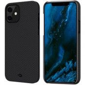 Pitaka MagEZ Plain Case (iPhone 12 mini) - Svart/grå