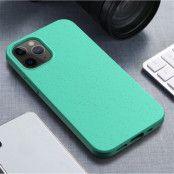 Wheat Straw Eco-Vänling Mobilskal iPhone 12 Mini - Cyan
