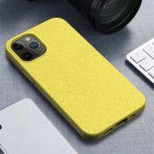 Wheat Straw Eco-Vänling Mobilskal iPhone 12 Mini - Gul