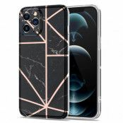 Boom of Sweden Grid iPhone 12 Pro Max Skal - Svart Marmor