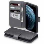 Terrapin | Äkta Läder Plånboksfodral iPhone 12 Pro Max - Grå
