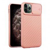 iPhone 12 / 12 Pro Skal med Kameraskydd - Ljus Rosa