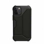 Metropolis Wallet Case iPhone 12/12 Pro Satin Black