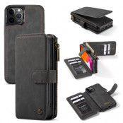 Multi-slot Flipfodral iPhone 12/12 Pro grå