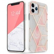 Tech-Protect   Marmer Mobilskal iPhone 12 & 12 Pro - Rosa