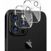[2-Pack] Linsskydd Härdat Glas iPhone 12 - Clear
