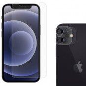 Härdat Glas Skärmskydd&Linsskydd iPhone 12