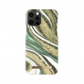 IDEAL FASHION CASE iPhone 12 & 12 Pro COSMIC GREEN SWIRL
