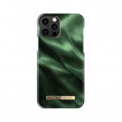 IDEAL FASHION CASE iPhone 12 & 12 Pro EMERALD SATIN