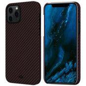 Pitaka MagEZ Twill Case (iPhone 12) - Svart/grå