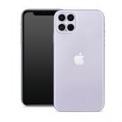 Puro 0.3 Nude Cover iPhone 12 | 12 Pro - Transparent