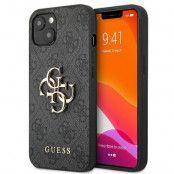 Guess iPhone 13 Mini Skal Big Metal Logo - Grå
