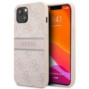 Guess iPhone 13 Mini Skal Stipe Collection - Rosa