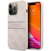 Guess iPhone 13 Pro Skal Max Stripe Collection - Rosa