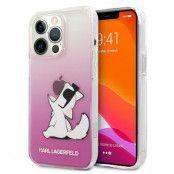 Karl Lagerfeld iPhone 13 & 13 Pro Skal Choupette Fun - Rosa