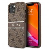 Guess iPhone 13 Skal Stripe Collection - Brun