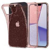 Spigen Liquid Crystal Mobilskal iPhone 13 - Glitter Rosa