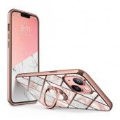 Supcase IBLSN Cosmo Snap iPhone 13 - Marble Rosa