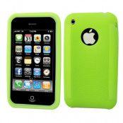 Silikon cirkel skydd till iPhone 3GS (Grön)