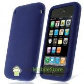 Silikonskal till iPhone 3GS (Midnight Blue)