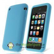Silikonskal till iPhone 3GS (Sky Blue)