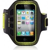 Belkin Sportarmband EaseFit (iPhone 4/4S) - Svart/gul