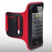 Sportarmband till iPhone 4S/4 / 3GS (Röd)