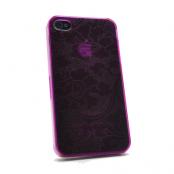 Baksidesskal till iPhone 4/4S (Magenta)