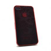 Baksidesskal till iPhone 4/4S (Röd)