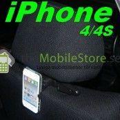 Nackstöd Bilhållare till Apple iPhone 4S/4