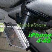 Solskydd Bilhållare till Apple iPhone 4S/4