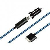 Dexim ciggladdare med USB-kabel till iPhone 4/4S (Svart)