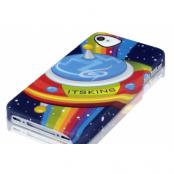 ITSkins Skal till iPhone 4S - UFO + Skärmskydd