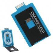 Kompakt & lätt laddningskabel till iPhone 4/4s/3Gs iPad 1/2/3/4 - Blå