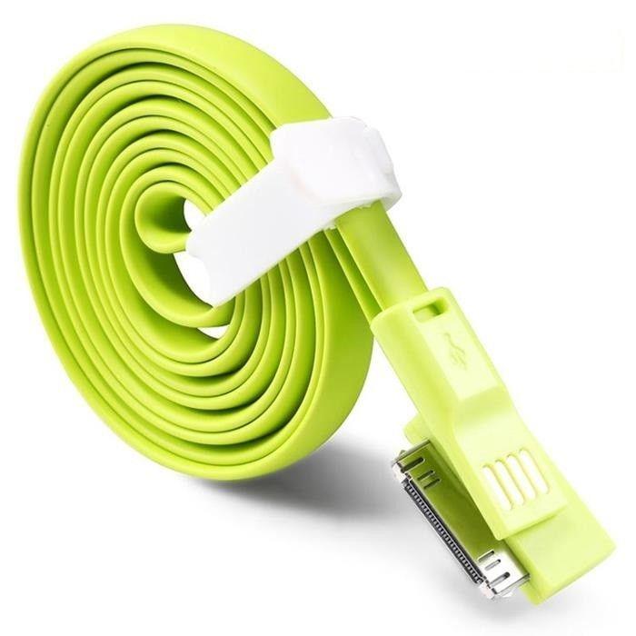 TakeFans trasselfri USB laddningskabel till iPhone 44S
