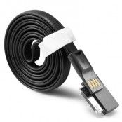 TakeFans trasselfri USB laddningskabel till iPhone 4/4s (Svart)
