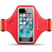Shocksock Eziflex Sportarmband till iPhone 5S/5 - Röd