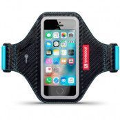 Shocksock Eziflex Sportsarmband till iPhone SE/5S/5 (Svart)