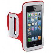 Sportsarmband till iPhone 5S/5 (Röd)