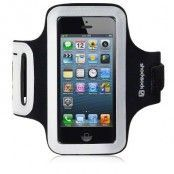 Sportsarmband till iPhone SE/5S/5 (Svart)