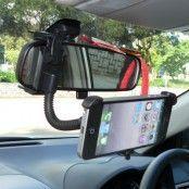 Bakspegel Bilhållare till iPhone 5